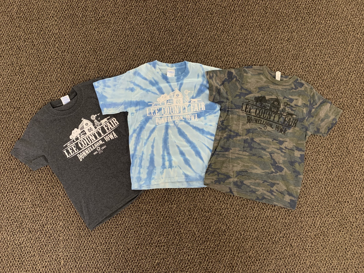 Lee County Fair Youth T-Shirts