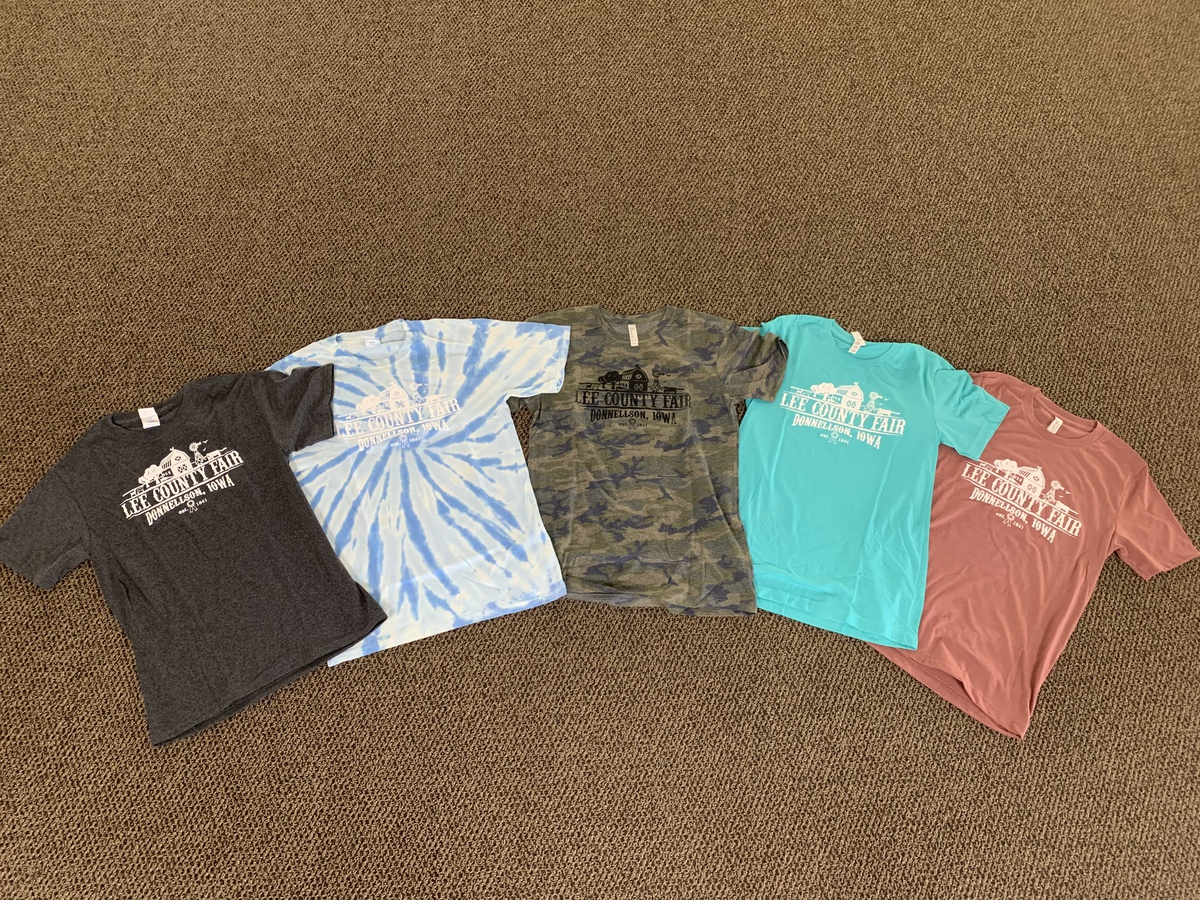 Lee County Fair Adult T-Shirts